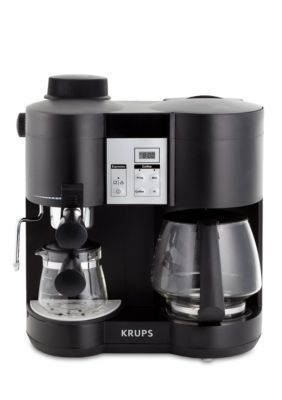 Krups Coffee Maker And Espresso Machine Combination Xp160050 Tea Liances