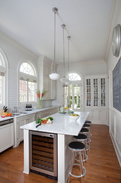 Artistry and illusion season a baton rouge townhouse a - Narrow kitchen island with seating ...