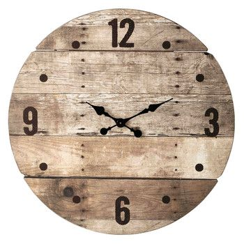 horloge en bois d 82 cm c vennes pour le salon horloge. Black Bedroom Furniture Sets. Home Design Ideas