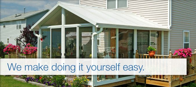Prefab Porches built to the same high standards as patio enclosures® custom