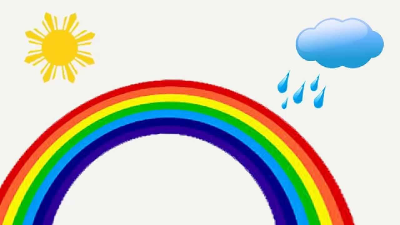 Скачать картинку радуга для детей