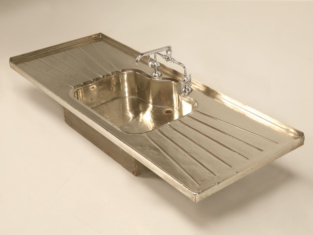 Bathroom Fixtures On Sale stellar antique german silver sink w/faucet and drainboards