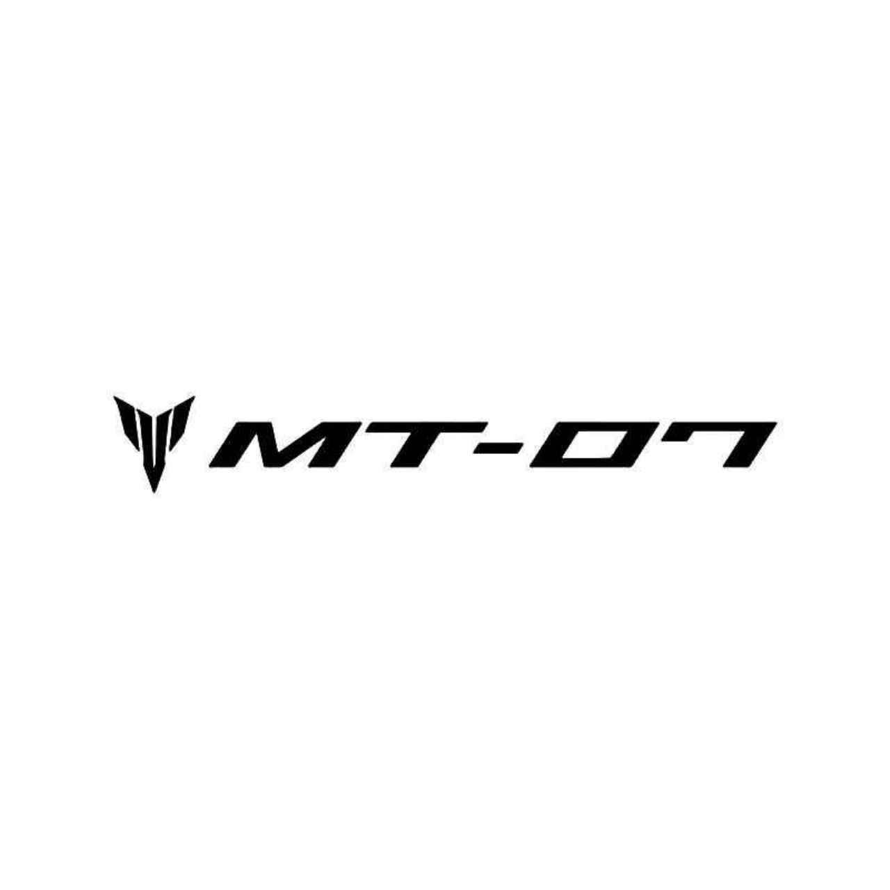 Yamaha mt 07 logo 1 vinyl decal sticker ballzbeatz com