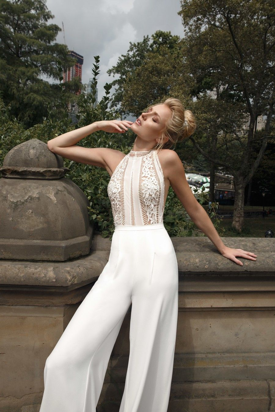 25f8d5ebb76b 40 Trending Bridal Jumpsuits   Pant Suits in 2019