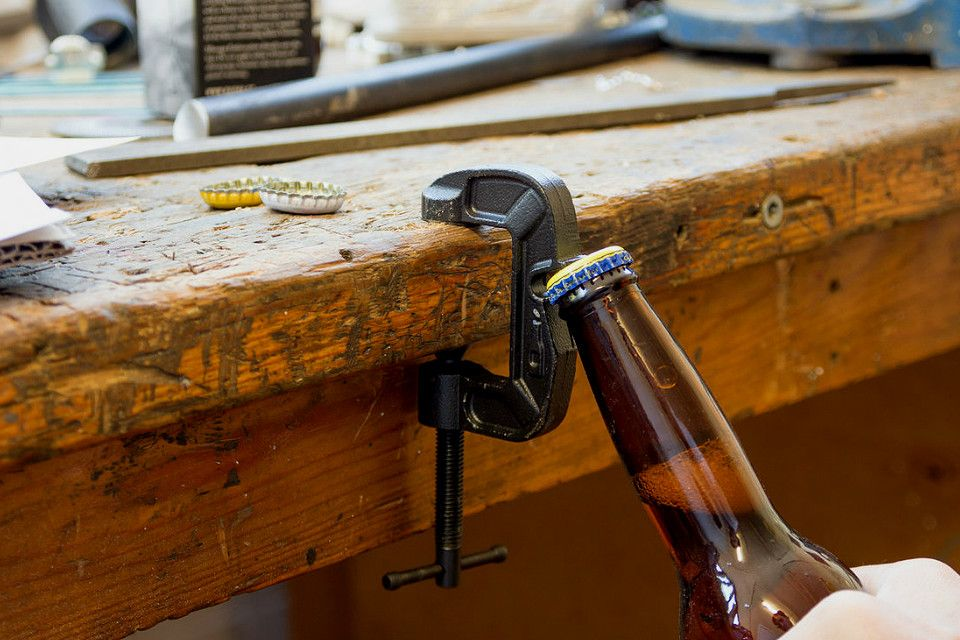 Gclamp bottle opener cool gadgets bottle opener beer
