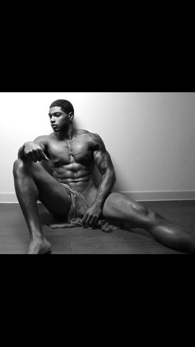 All Black african american men nude
