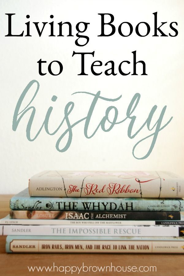 Photo of Great Living Books for Teaching History