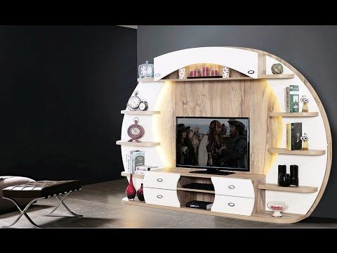 simple and attractive t v unit designs - YouTube | Bar | Pinterest ...