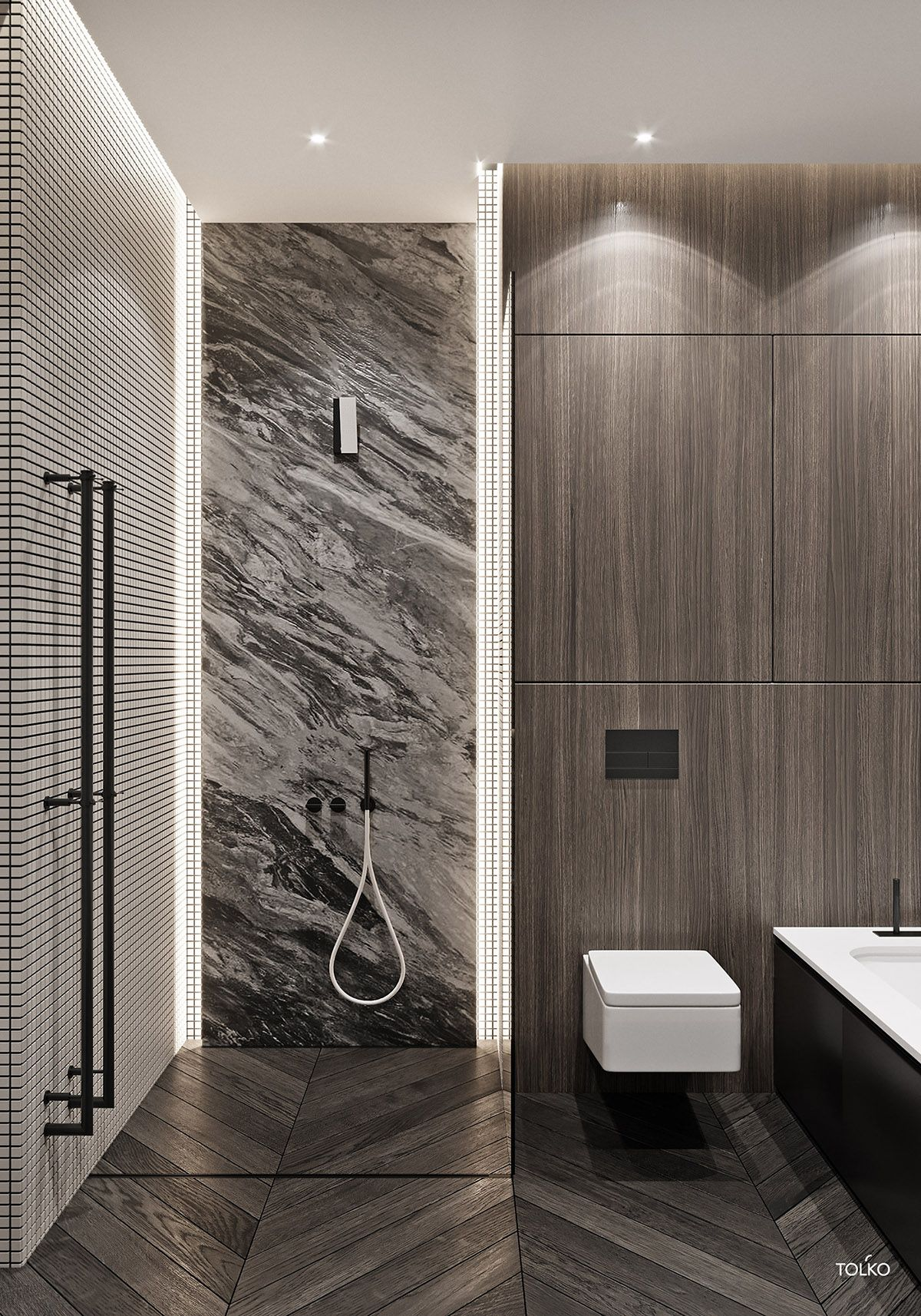 A Luxury Home With A Jungle Gym Bedroom Luxury Bathroom Bathroom Styling Minimalist Bathroom Modern home bathroom design