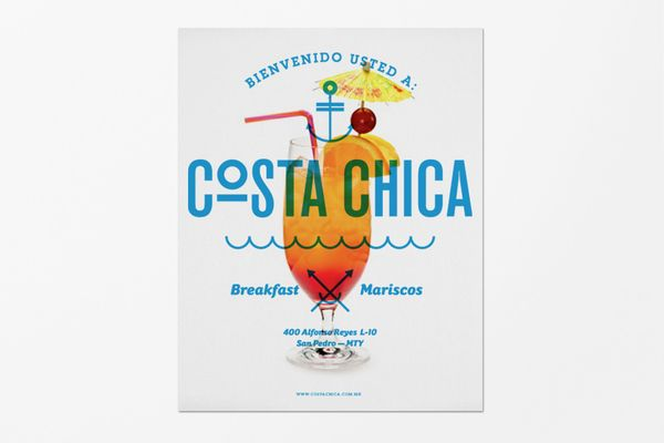 COSTA CHICA by SAVVY STUDIO , via Behance