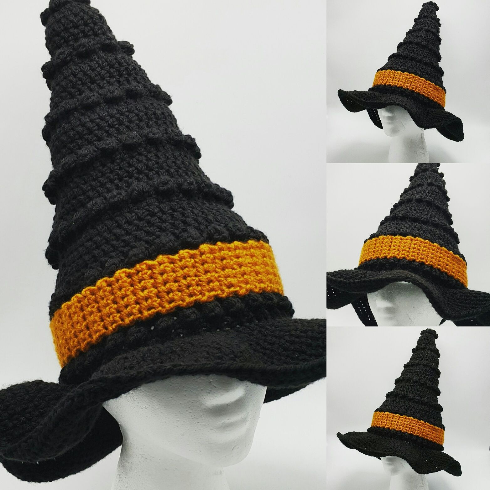 Crochet pattern witch hat crochet pattern crochet pattern crochet pattern witch hat crochet pattern crochet pattern witches hat halloween crochet pattern kids and adults witch hat pattern bankloansurffo Image collections