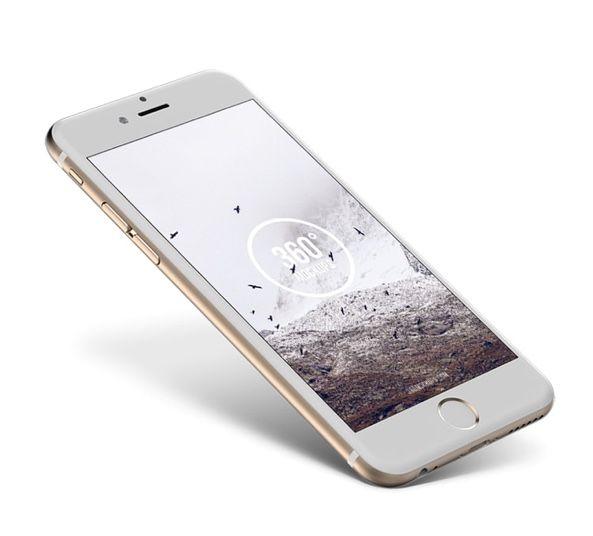 Iphone 6 Gold Mockup For Photoshop Freebiesui Iphone 6 Gold Iphone 6s Rose Gold Iphone
