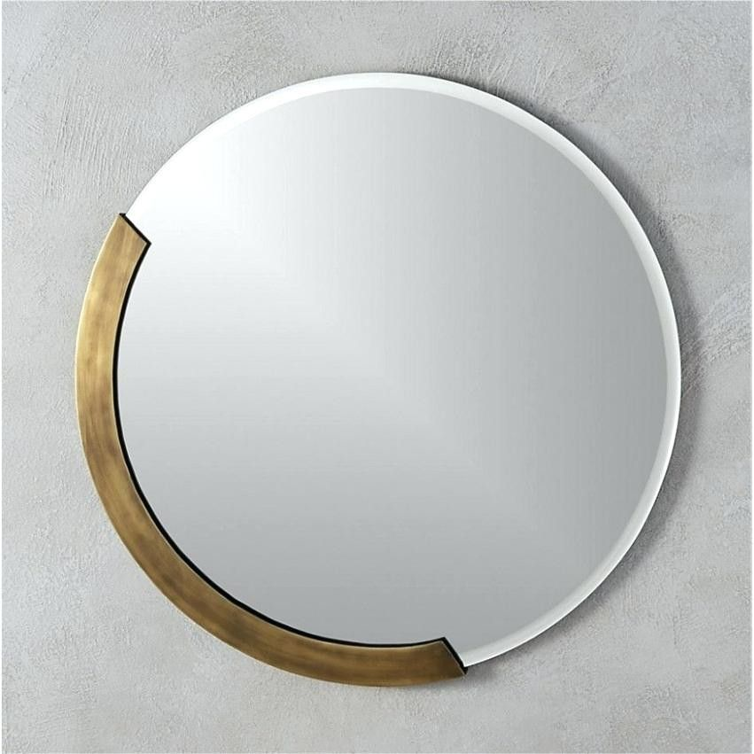 Unique Round Wall Mirrors Mirror Set 3 Inch Tall Unusual Large For