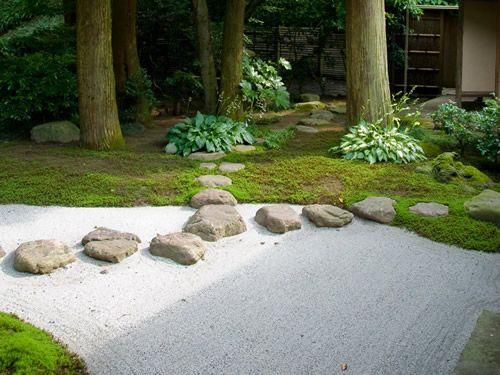 Zen garden Japanese garden Zen garden Pinterest - jardines zen