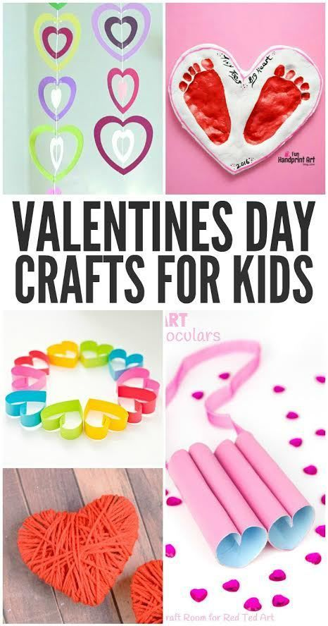 Looking to craft a little fun with your little Valentine? Here are ...