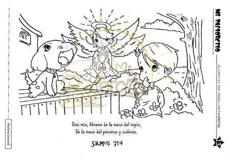 Dibujos para colorear con textos biblicos para jovenes - Imagui ...