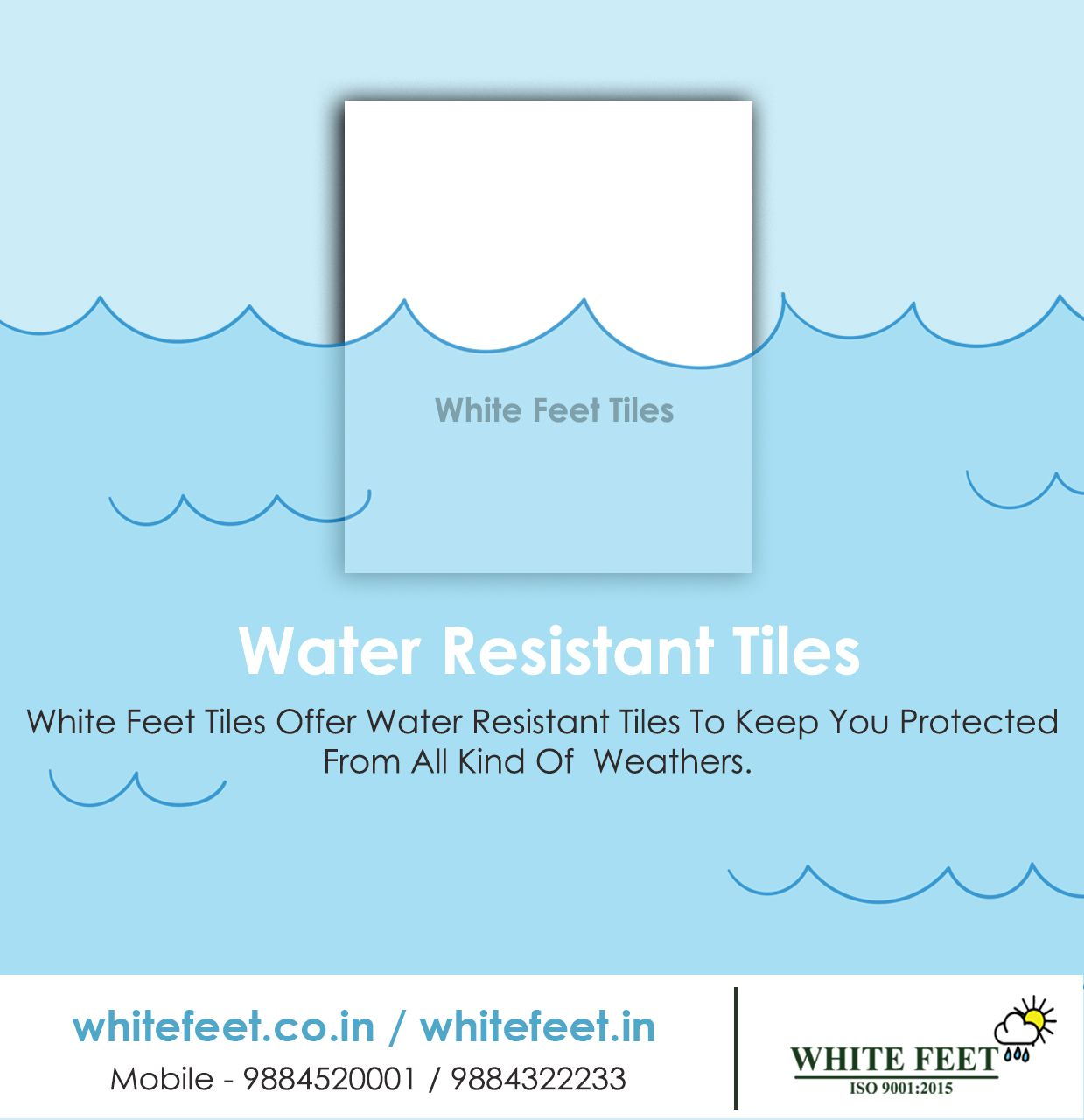 White Feet Cool Roof Tiles Cool Roof Roof Tiles Tiles