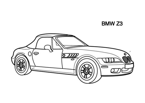 Cars Coloring Pages Online And Printables Cars Coloring Books For Kids Cars Coloringbook Forkids Ki Cars Coloring Pages Coloring Pages For Kids Bmw Z3