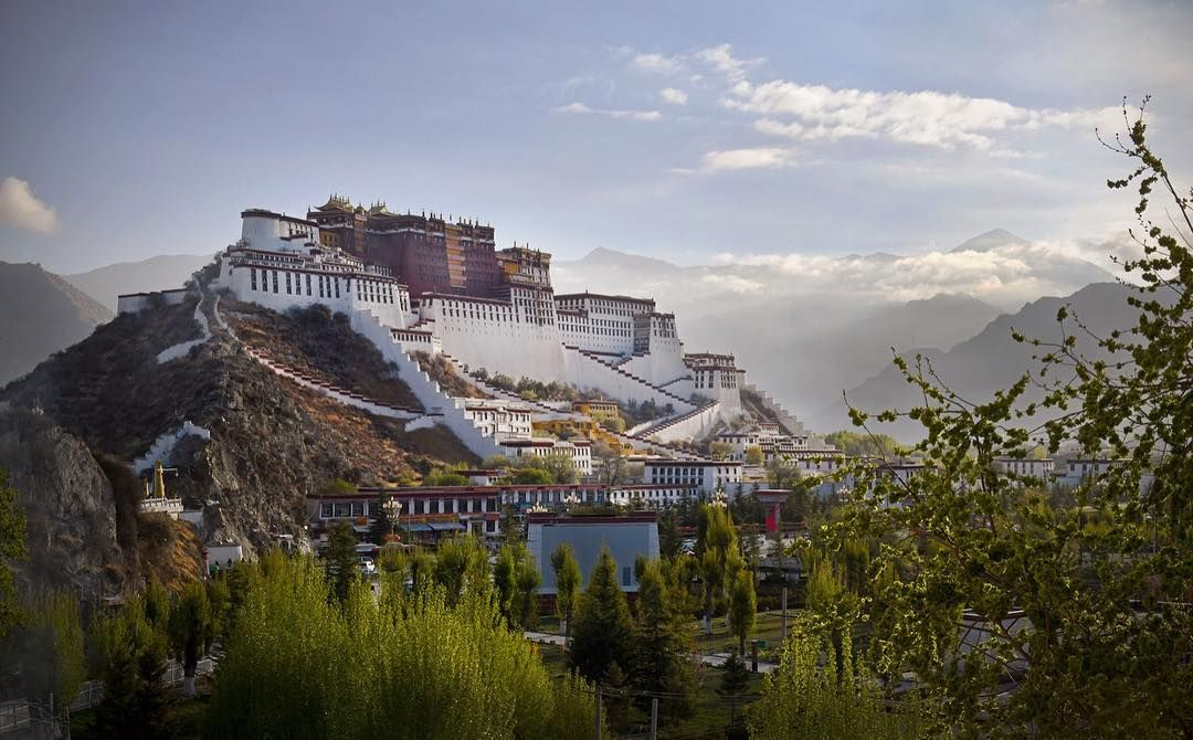 New The 10 Best Travel With Pictures Dawn Over Lhasa Tibet This Morning Potalapalace Lhasa Tibet Dawn Citysca Travel Photography Travel Lhasa Tibet