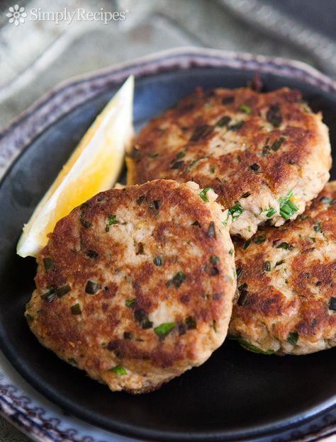 Tuna Patties Recipe Tuna Patties Recipes Meat Recipes
