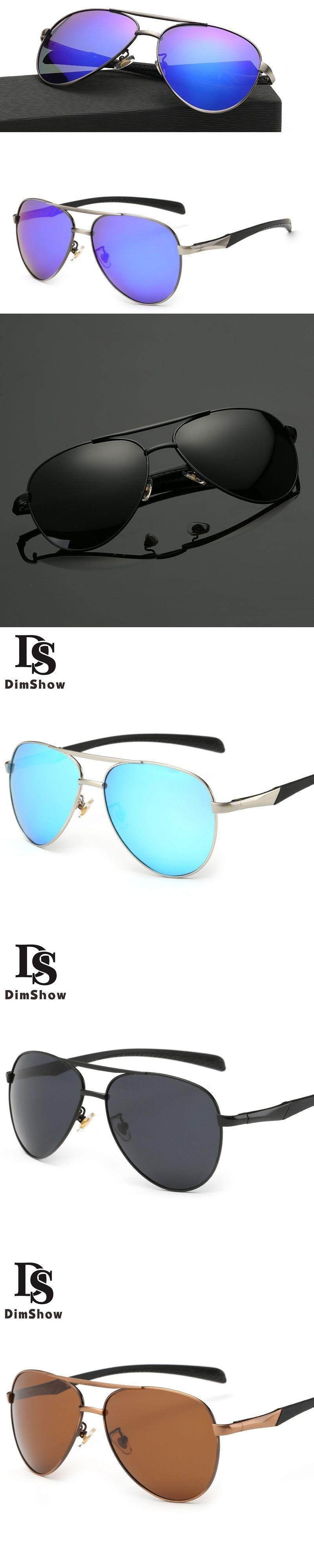 5d16deaddd Dimshow Best Pilot Glasses Polarized Aviation Sunglasses Men Women High  Quality Alloy Frame Polaroid Lenses Rubber