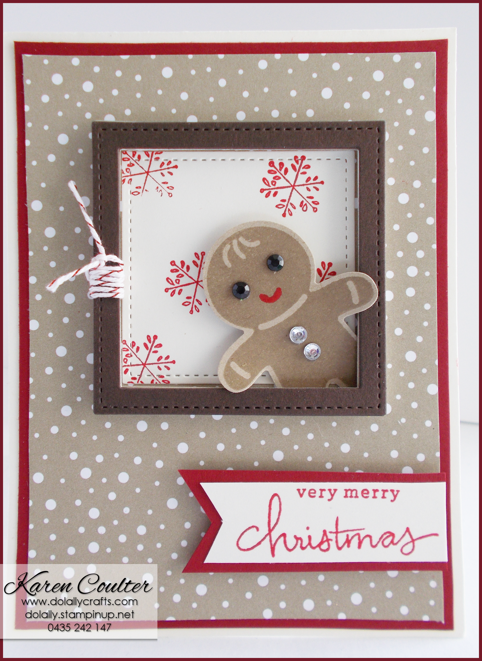 Diy Christmas Cards Cookie Cutter Christmas Stamp Set Pinteres