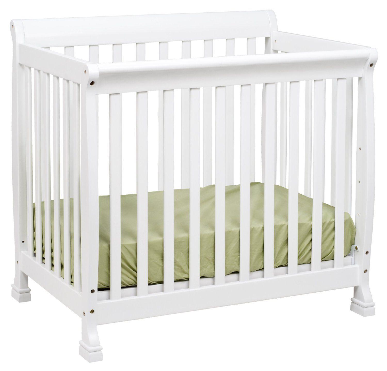 Amazon Com Davinci Kalani Mini Crib Available In Black Also Small Baby Cribs Mini Crib Cribs