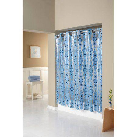 Home Shower Curtains Walmart Curtains Hookless Shower Curtain
