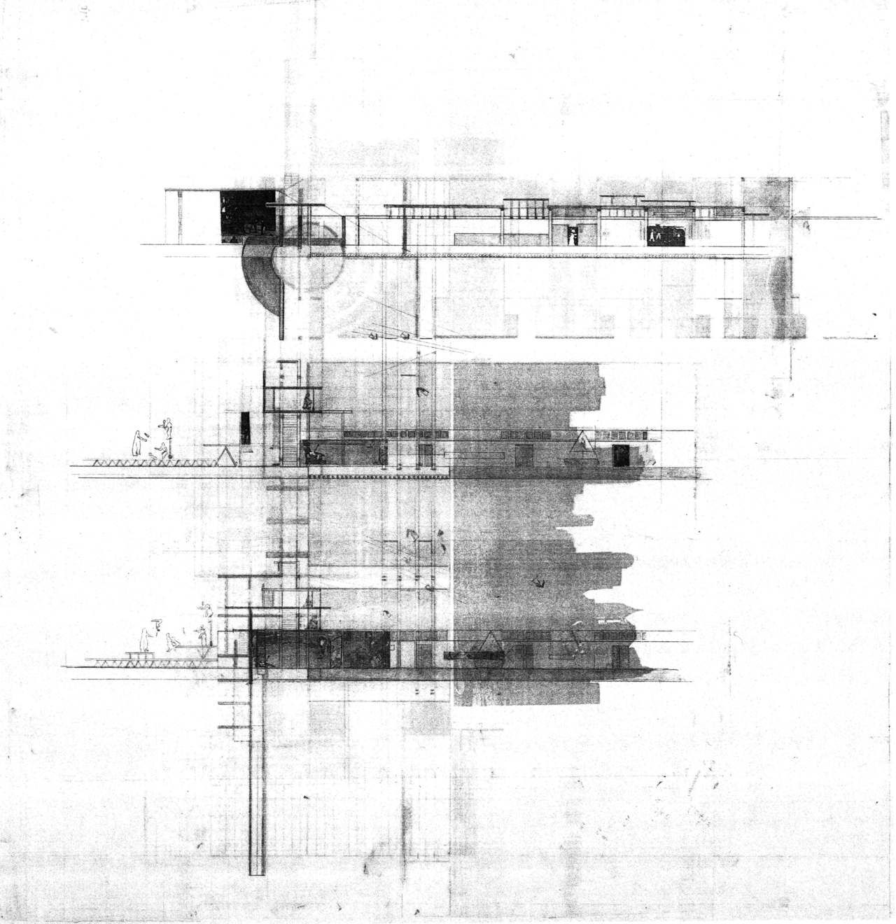 The Architectural Review S Folio Sketches Arquitectura Dibujos De Arquitectura Dibujo Arquitectonico