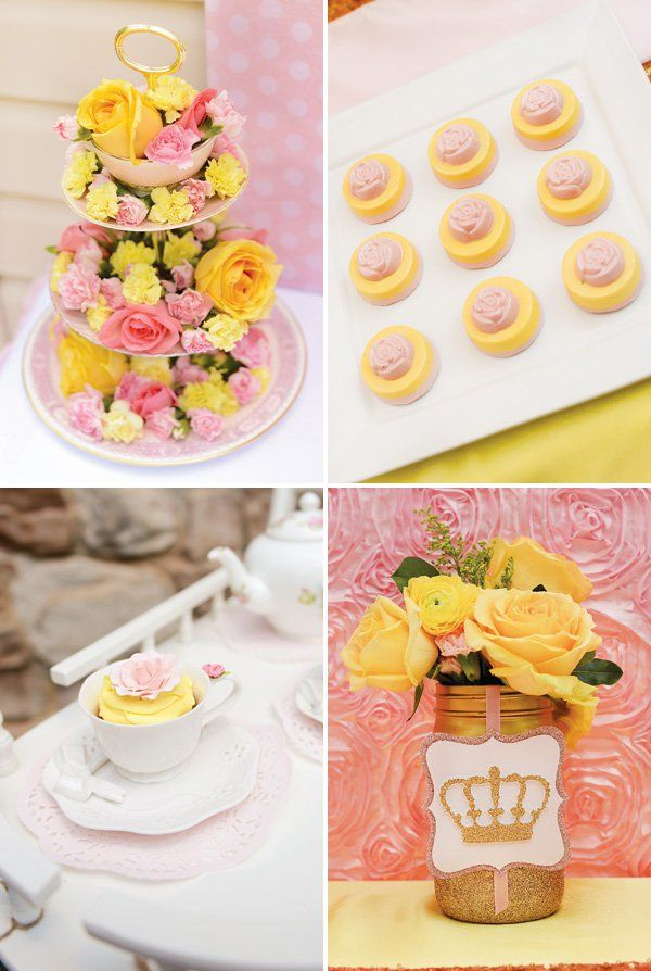 Belle Birthday Decorations Belle Inspired Princess Tea Party Birthday Be Our Guest  Tea