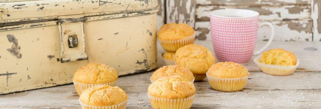 Muffin ananas - noix de coco vegan. Vegan pineapple - coco muffin A FAIRE