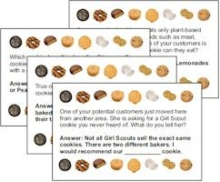 Cookie game card girl scout ideas pinterest by the time your girls are junior girl scouts cookie season can start to loose some of its excitement colourmoves Image collections