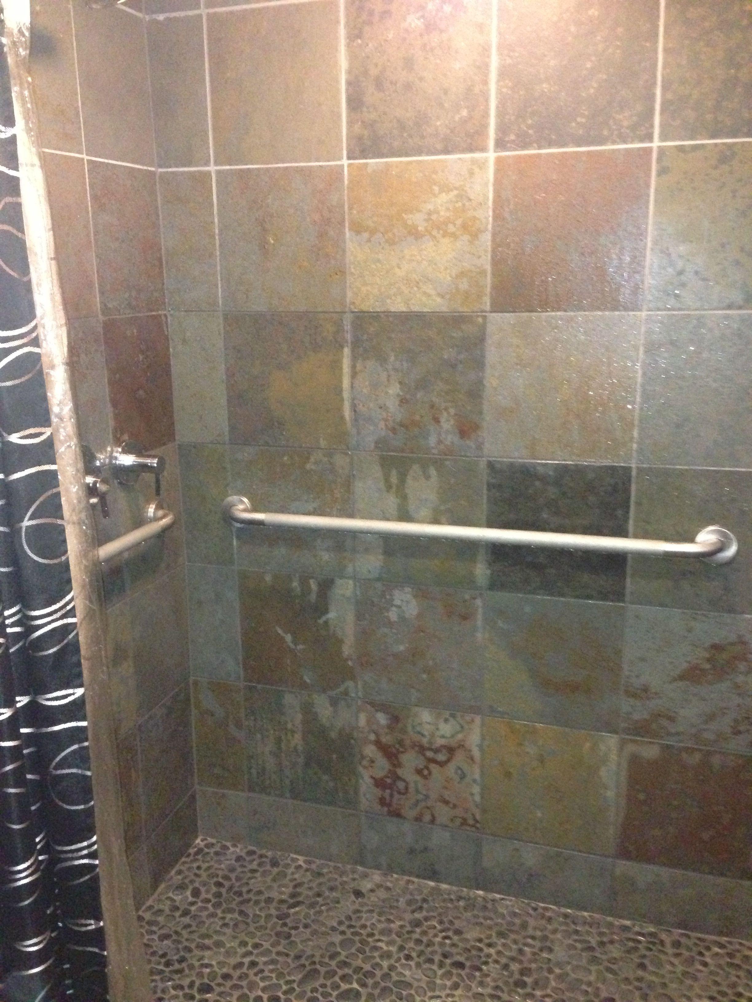Bathroom Tiles Wall Peacefully Soothing Granite Emerge Spa