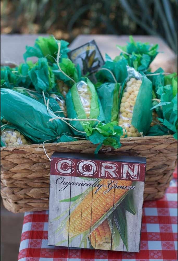 Aidan's Farmers Market 1st Birthday | CatchMyParty.com ...