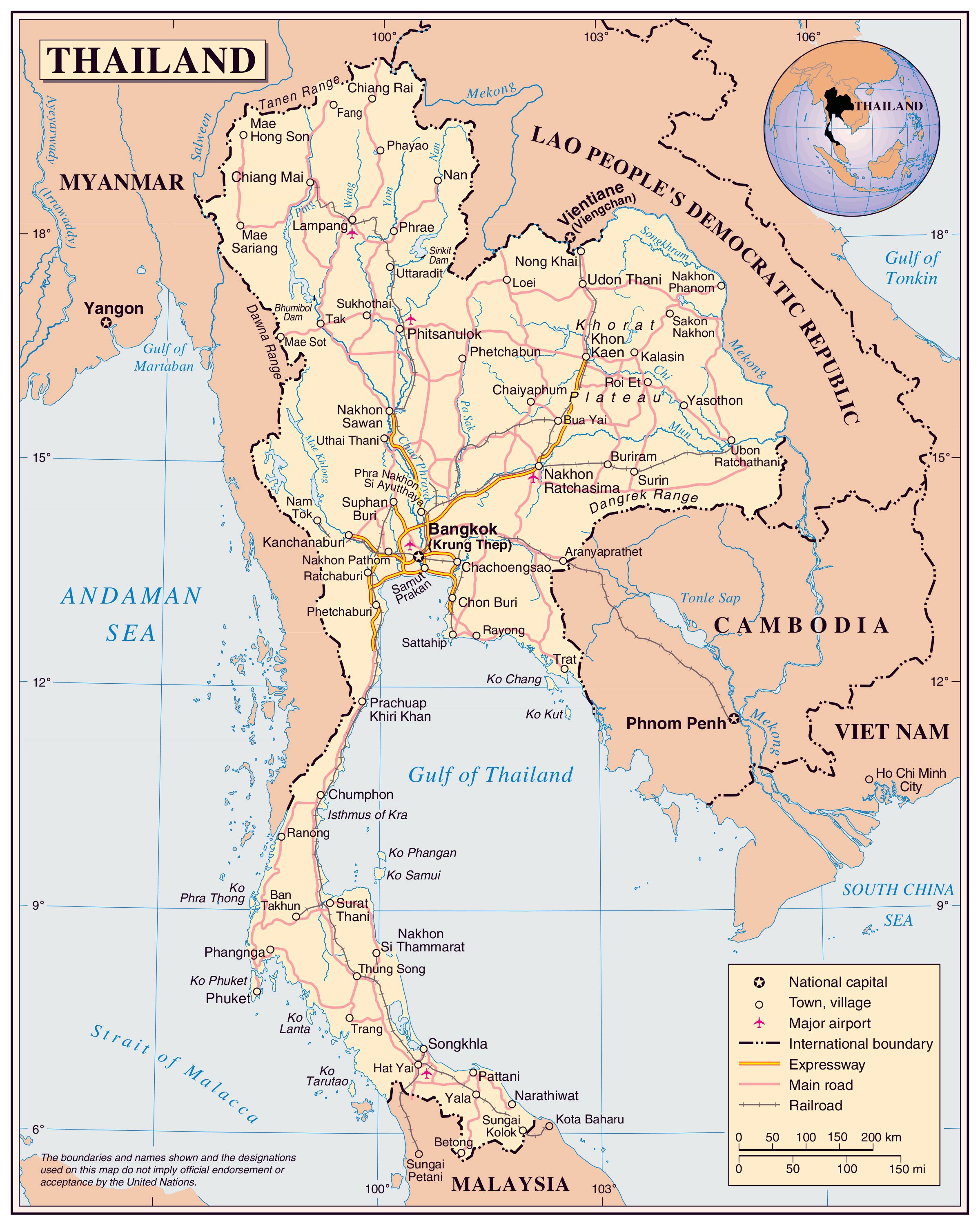 Phitsanulok Thailand Map.Image Result For Map With Scale School Pinterest Thailand
