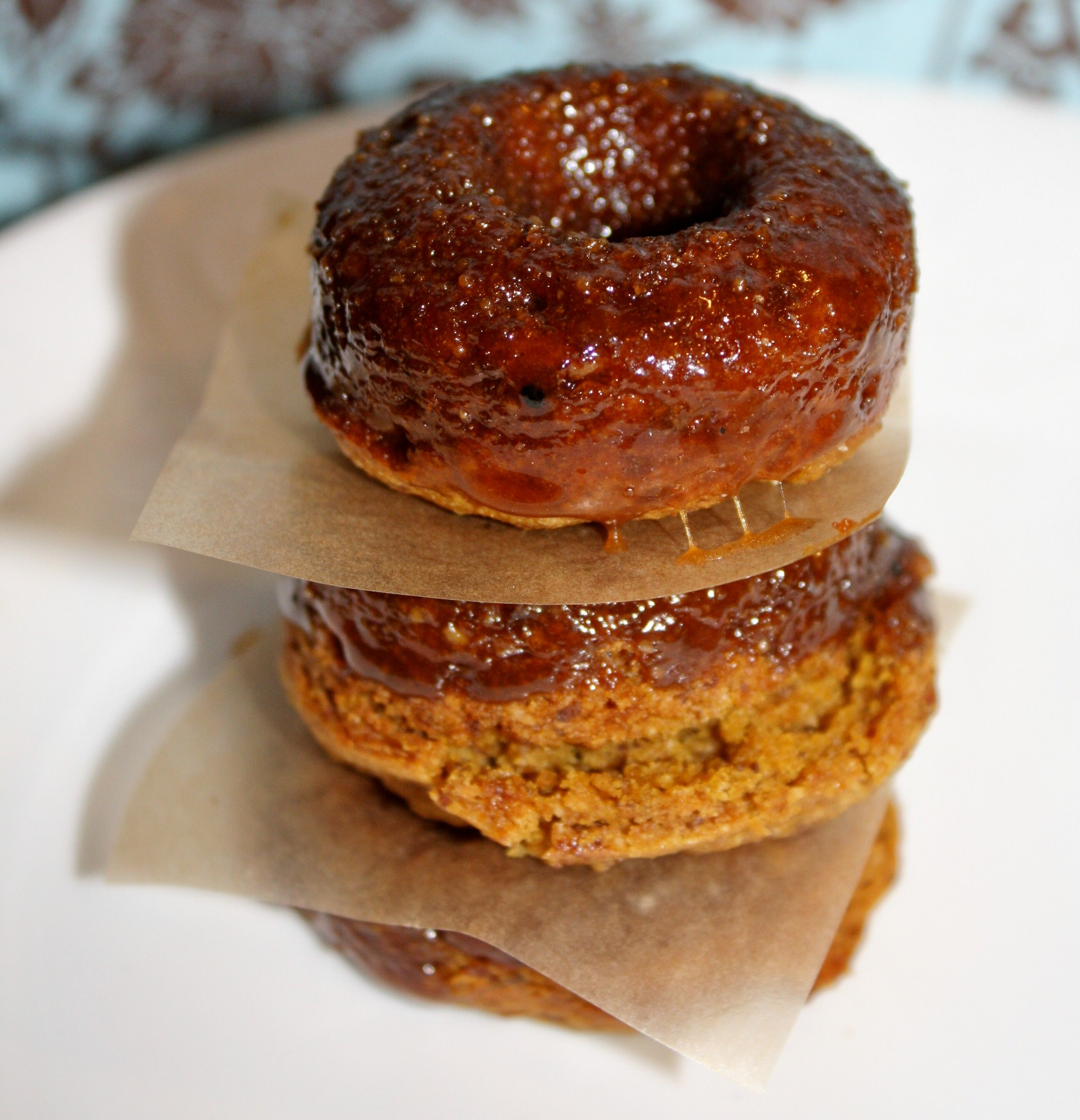 Gluten Free Vegan Baked Pumpkin Donuts Recipe Healthy Pumpkin
