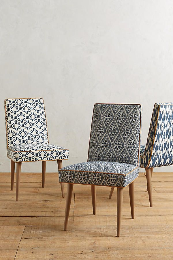 Ikat Zolna Chair Dining Chair Upholstery Dining Chairs Diy