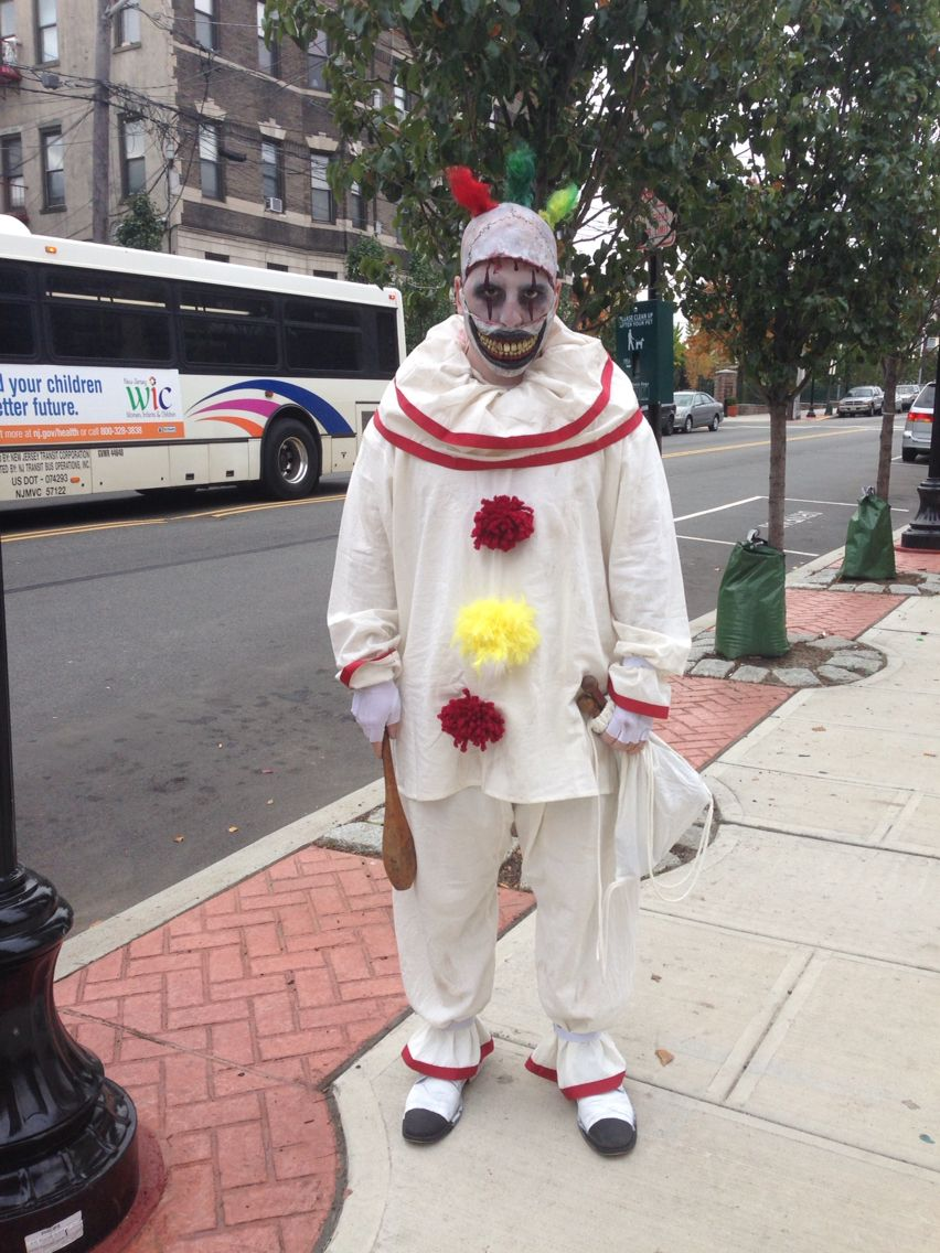 Twisty Clown Homemade Costume Halloween