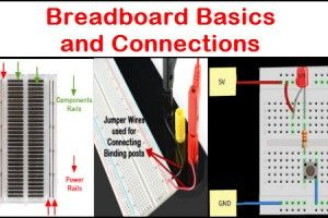 Breadboard Basics and Connections | workshop | Pinterest | Diy ...