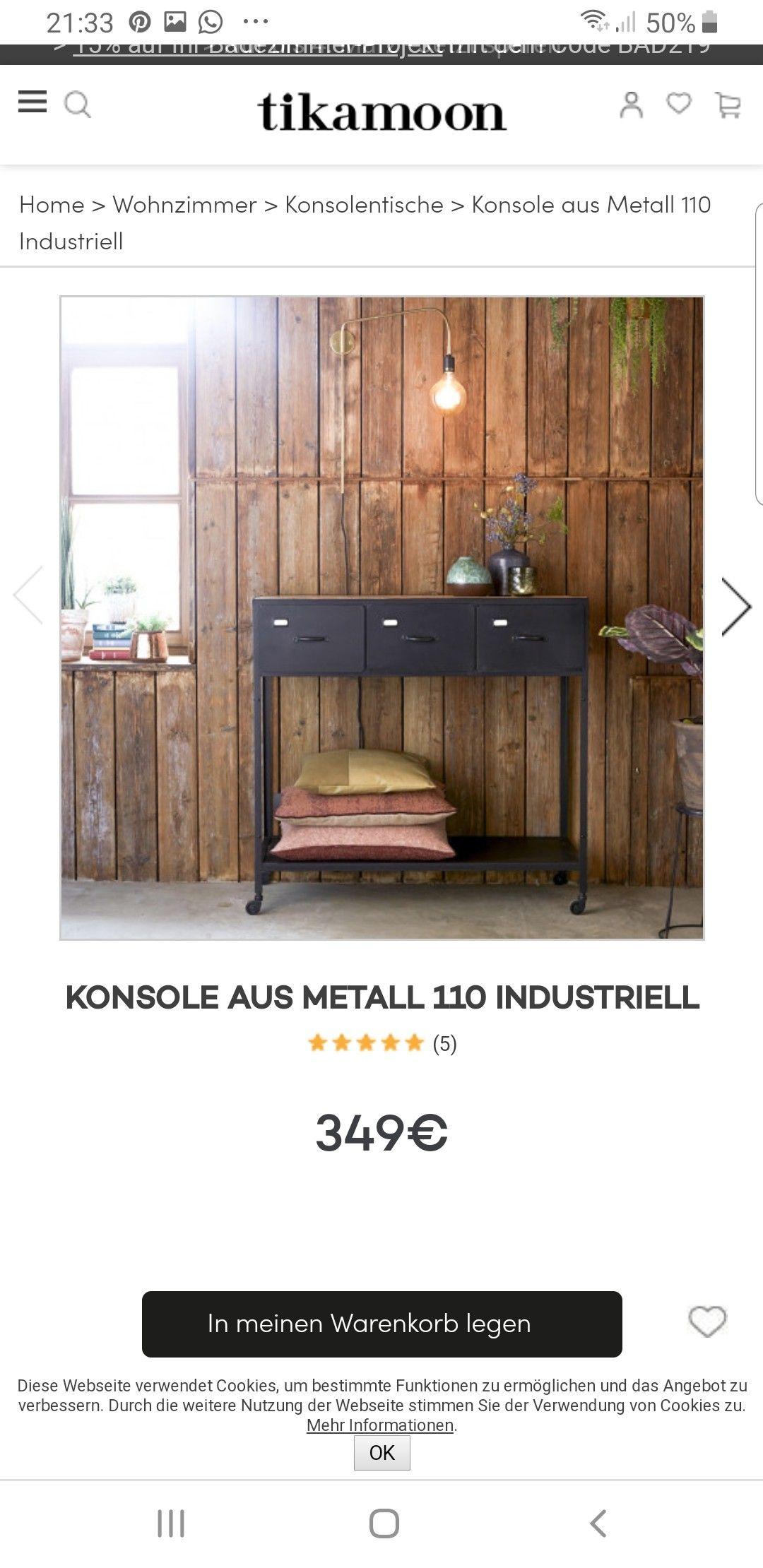 Pin Von Katja Gross Auf Konsole Konsolentisch Konsolen Tisch Konsole