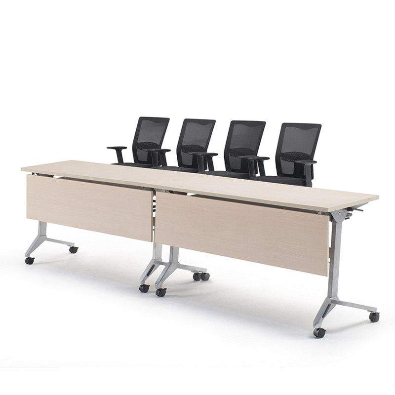 Excellent Quality Popular Design Lightweight Aluminum Base Folding - Foldable training table