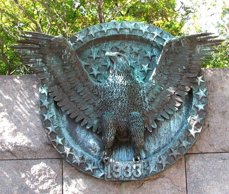 Presidential Seal at the Franklin Delano Roosevelt