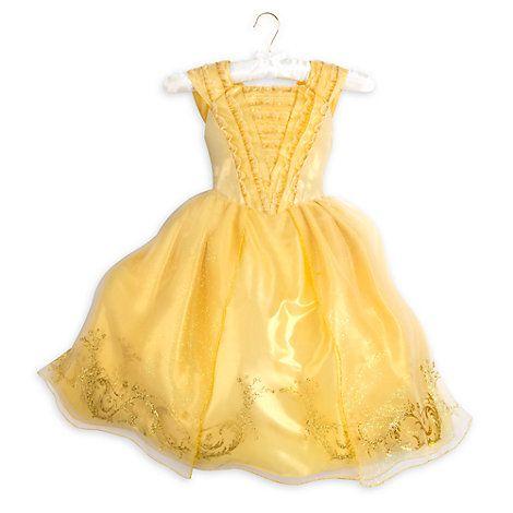 Robe de déguisement dorée Premium pour enfants, La Belle et la Bête ... 29f32d08b369