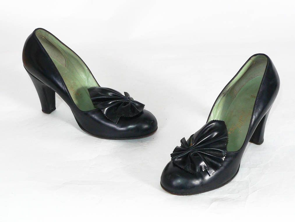 Vintage 1940s Shoes - The Enchanting Ethel Heels