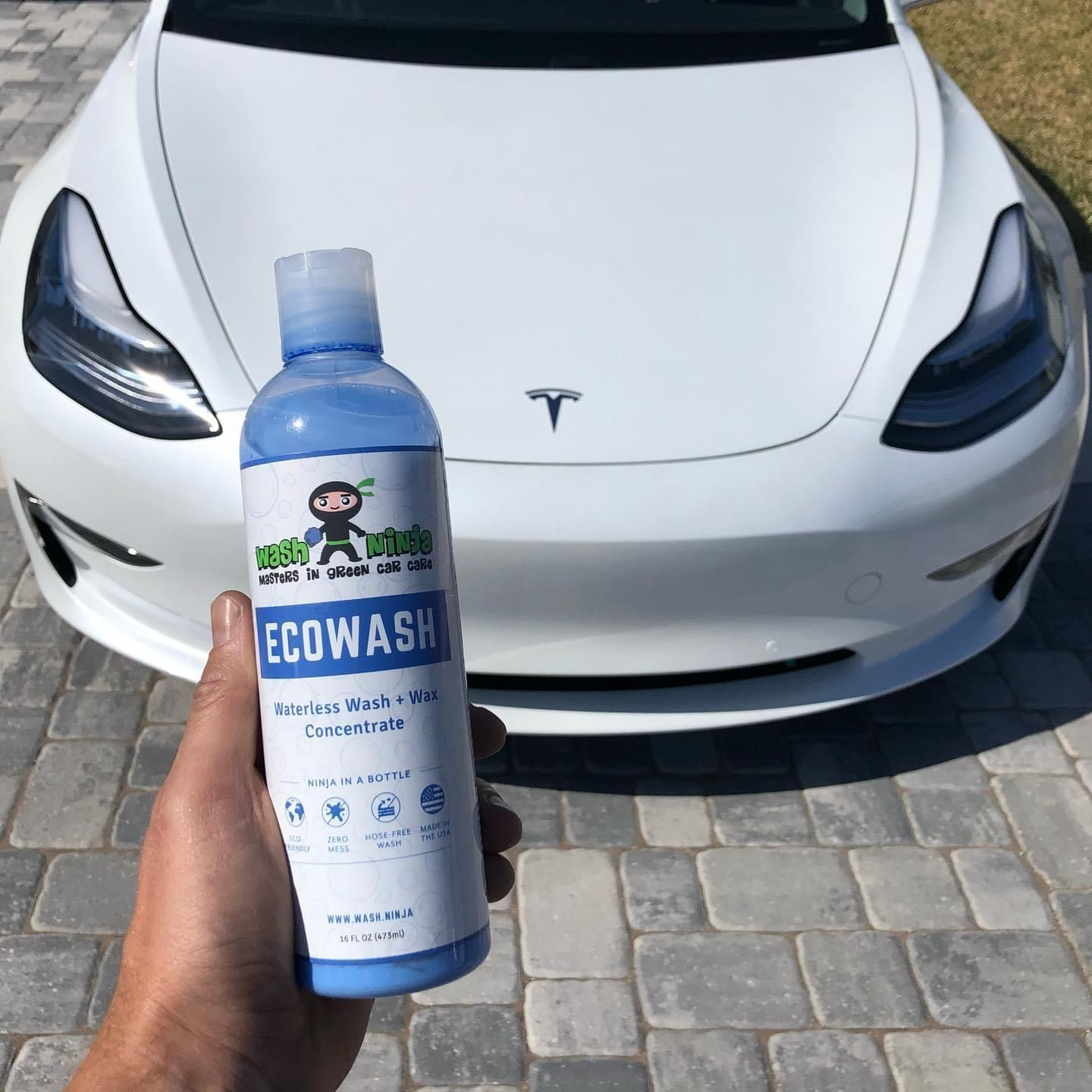 Tesla Model 3 Wash Ninja EcoWash + Wax in 2020 | Wash wax ...