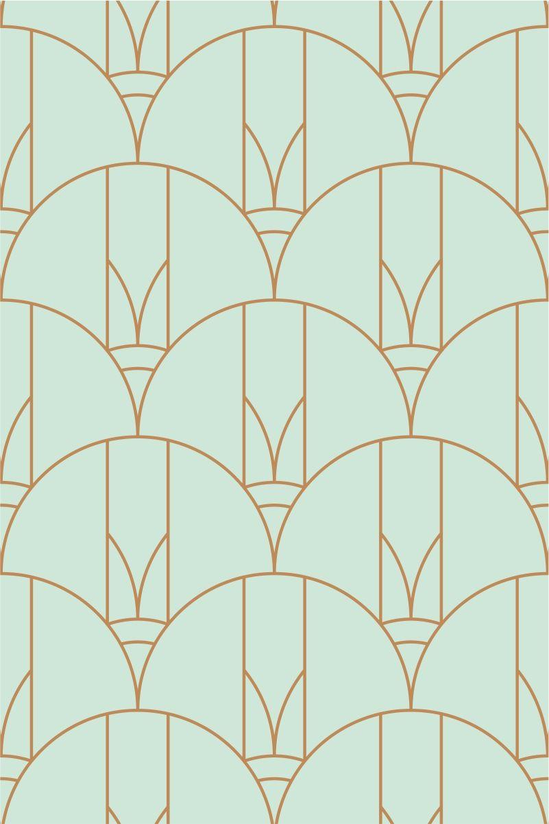 Fish Scale Art Deco Patterns Art Deco Pattern Art Deco Wallpaper Art Deco Patterns