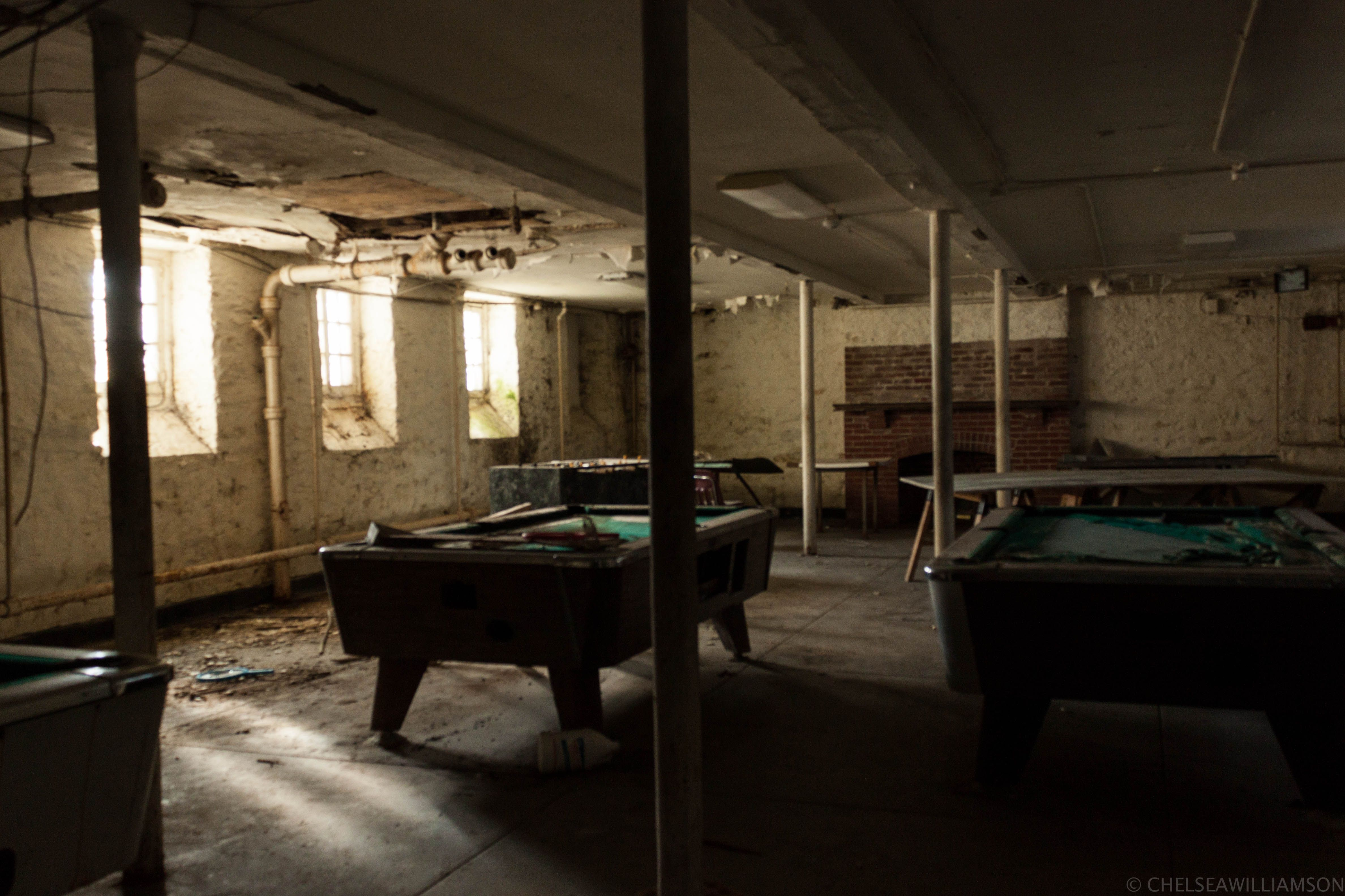 Sleighton Farm School, Pennsylvania. Rec room in boys dormitory