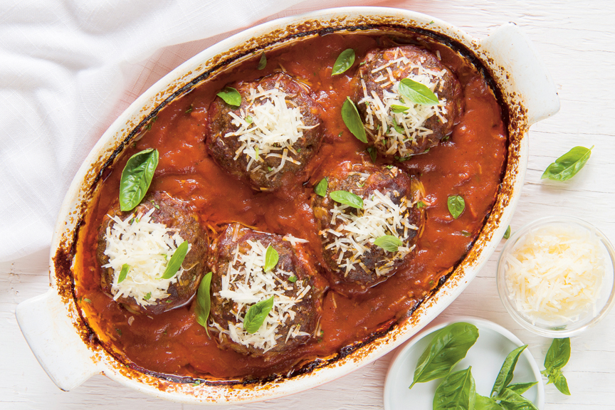 Photo of Meatloaf with parmigiana | .recettes.qc.ca