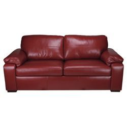 Pleasing Check Out Ashmore Leather Sofa Bed Red Red From Tesco Pdpeps Interior Chair Design Pdpepsorg