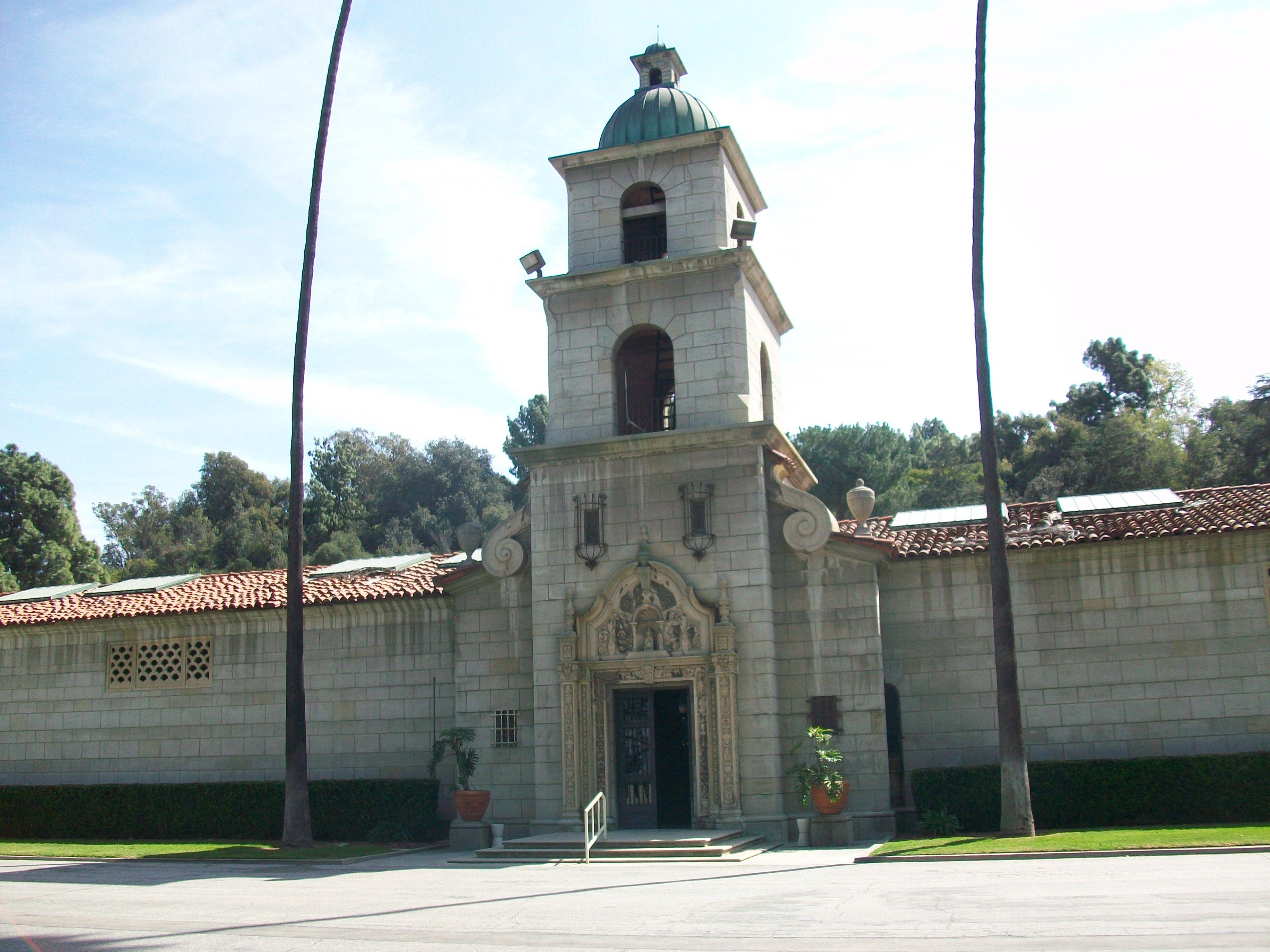 El Portal De La Paz Mausoleum Est 1930 Rose Hills Whittier Calif Ferry Building San Francisco Whittier California Rose Hill